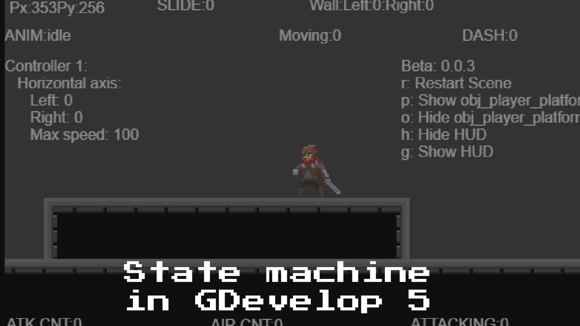 State machine with combos