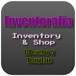 Inventoralia - inventory and shop for GDevelop