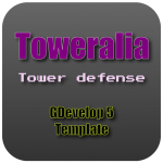 Toweralia - A tower defense template for GDevelop
