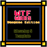 WTF Wars - Dungeon Edition - A dungeon crawler mini template for GDevelop 5