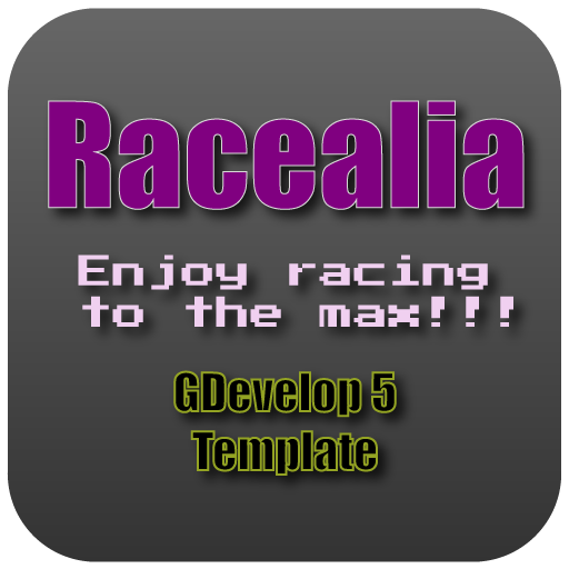 Racealia - Enjoy Racing To The Max - A GDevelop 5 Template