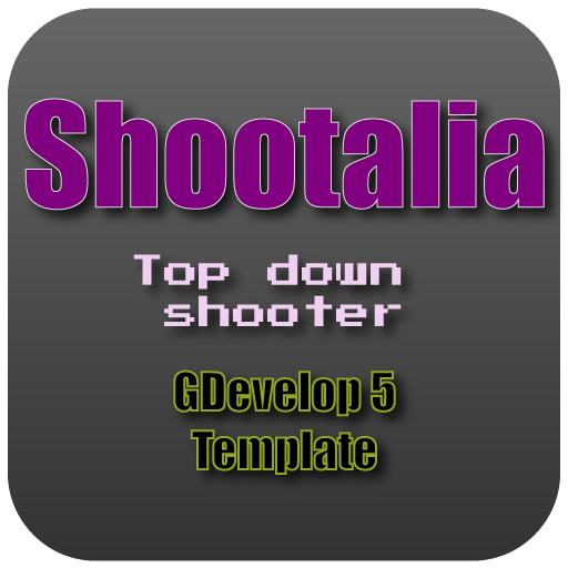 Top Down Shooter Template for GDevelop 5