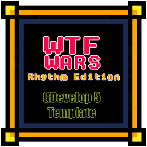 WTF Wars - Rhythm Edition - A musical game for GDevelop